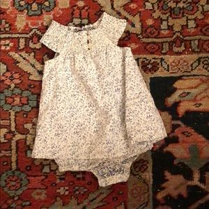 Tea Collection linen dress body suit